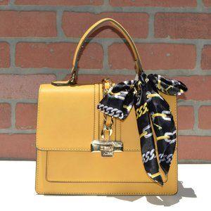 ALDO Women's Top Handle Foldover Satchel Bag